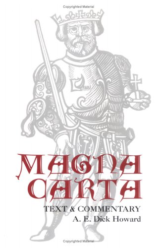 Magna-Text& Commentary P  by A. E. Dick Howard