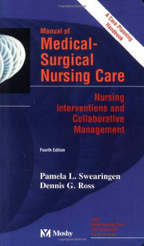 Manual of Medical-Surgical Nursing Care, Nursing Interventions and Collaborative Management 9780815127444