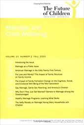 Marriage and Child Wellbeing: Number 2