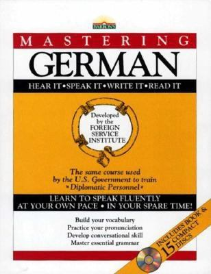 Mastering German: With 15 Compact Discs 9780812078695