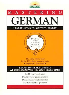 Mastering German: Book Only 9780812022100