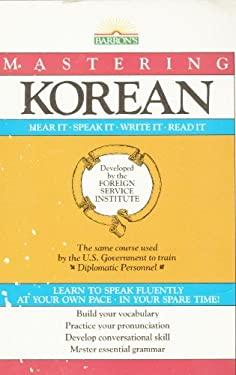 Mastering Korean 9780812033755