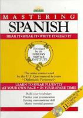 Mastering Spanish [With Book] 9780812078718