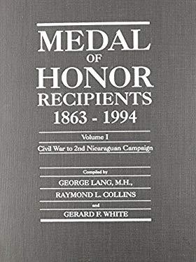 Medal of Honor Recipients 1863-1994 9780816032594