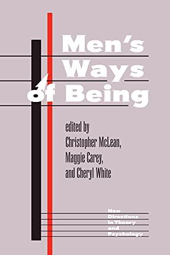 Men's Ways of Being 9780813326535