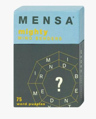 Mensa: Mighty Mind Benders: 75 Word Puzzles 9780811822886