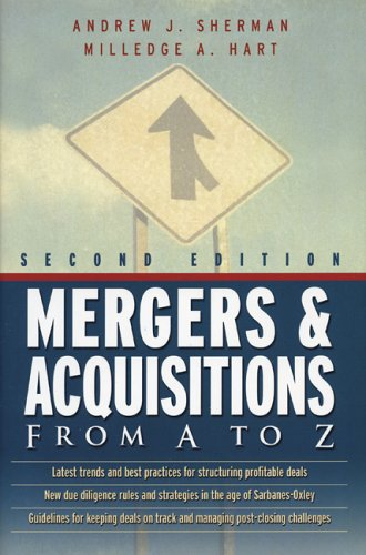 Mergers and Acquisitions from A to Z 9780814408803