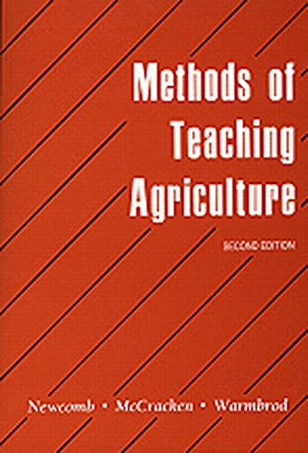 Methods of Teaching Agriculture 9780813429526