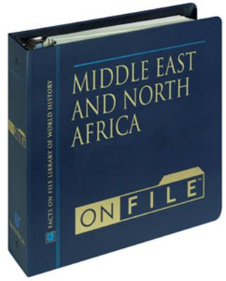 Middle East and North Africa on File& #153; 9780816031061