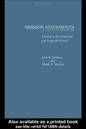 Mission Statements 9780815312970