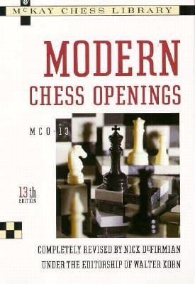 Modern Chess Openings 9780812917307