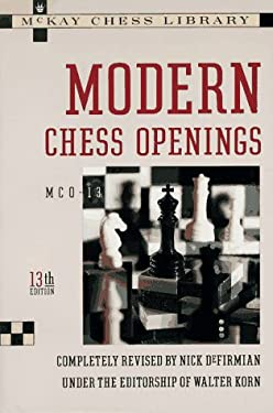 Modern Chess Openings 9780812917857