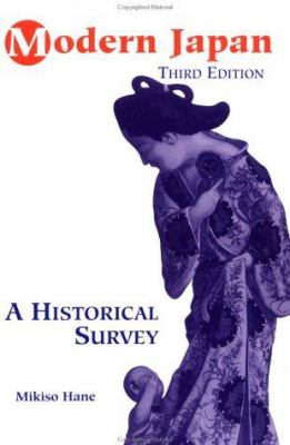 Modern Japan : A Historical Survey, Third Edition - 3rd Edition