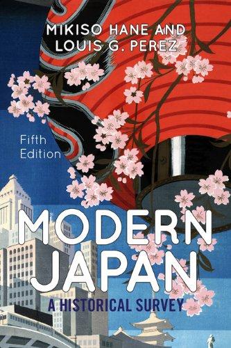 Modern Japan: A Historical Survey 9780813346946
