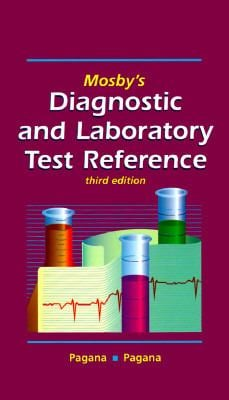 Mosby's Diagnostic and Laboratory Test Reference 9780815143277
