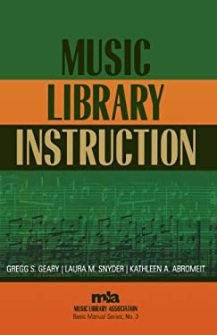Music Library Instruction 9780810850026