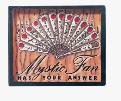 Mystic Fan: Game Box [With Flexi Glass and Silver Ball Bearings] 9780811823999