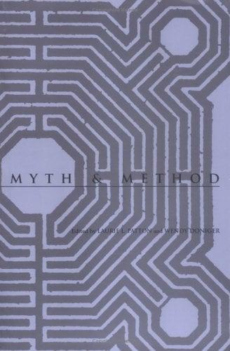 Myth and Method Myth and Method 9780813916576