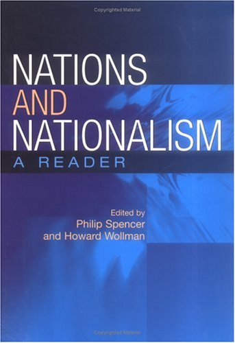Nations and Nationalism: A Reader 9780813536262