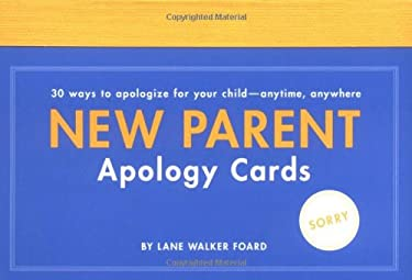 New Parent Apology Cards 9780811851046