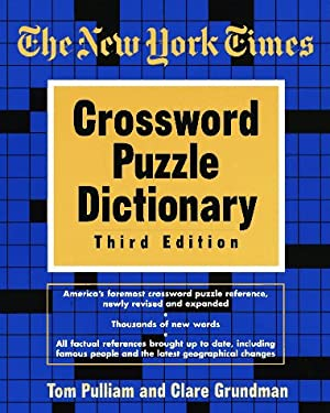 New York Times Crossword Puzzle Dictionary 9780812928235