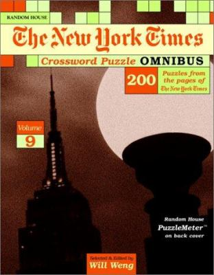 New York Times Crossword Puzzle Omnibus, Volume 9 9780812935790