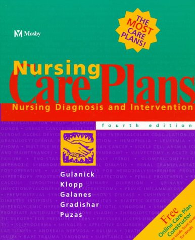 Nursing Care Plans: Nursing Diagnosis and Intervention 9780815124719