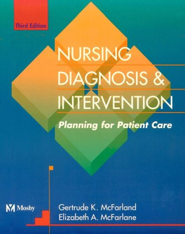 Nursing Diagnosis and Intervention: Planning for Patient Care 9780815170266