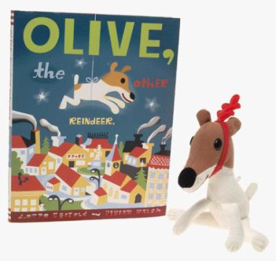 Olive, the Other Reindeer [With Doll]