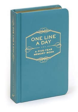 One Line a Day: A Five-Year Memory Book 9780811870191