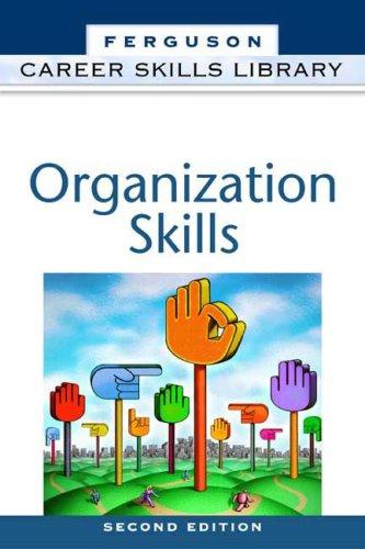 Organization Skills 9780816055210