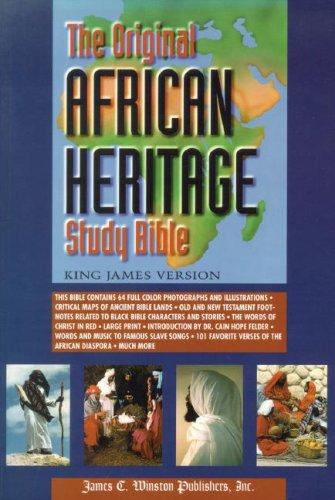 Original African Heritage Study Bible-KJV-Large Print 9780817015114
