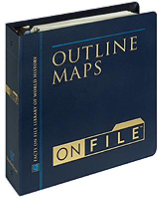 Outline Maps on File [With 32-Page Atlas] 9780816034765