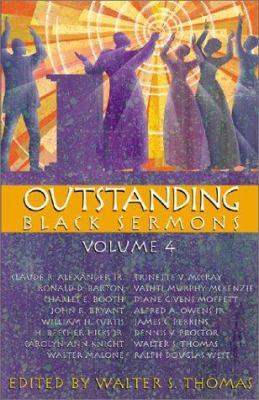 Outstanding Black Sermons 9780817013783
