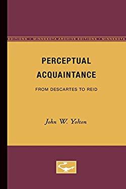 Perceptual Acquaintance from Descartes to Reid