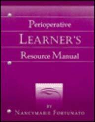 Perioperative Learner's Resource Manual 9780815108276