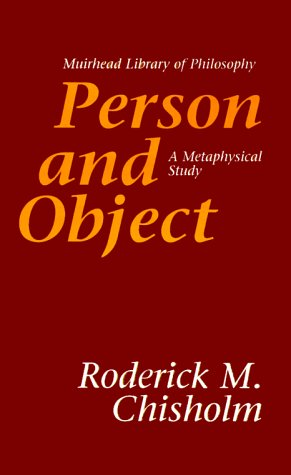 Person and Object: A Metaphysical Study 9780812694284