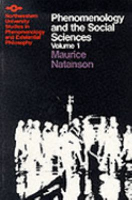 Phenomenology & the Social Sciences, I 9780810104006