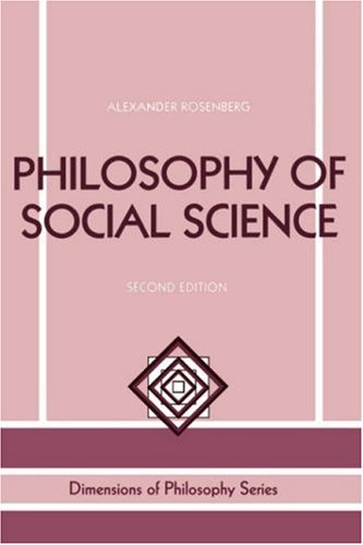 Philosophy of Social Science 2e Second Edition 9780813326603