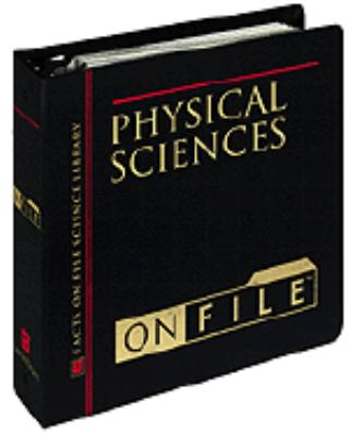 Physical Sciences on File 9780816038749