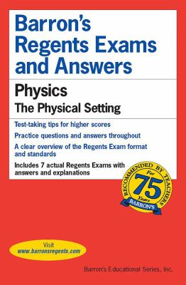 Physics -- The Physical Setting 9780812033496