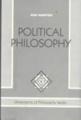 Political Philosophy 9780813308579