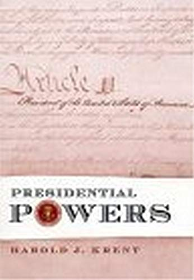 Presidential Powers 9780814747827