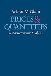 Prices and Quantities: A Macroeconomic Analysis 9154949