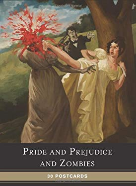 Pride and Prejudice and Zombies Postcard Book 9780811874779