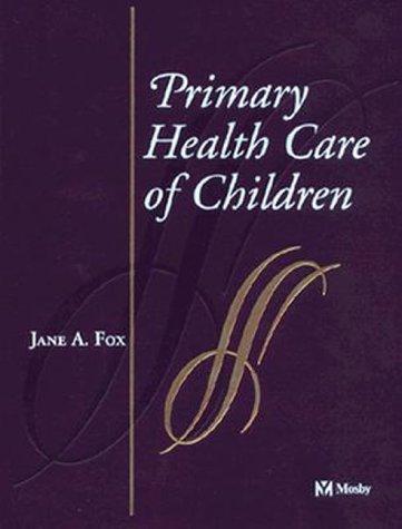 Primary Health Care of Children 9780815133100