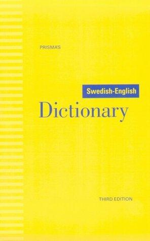 Prismas Swedish-English Dictionary
