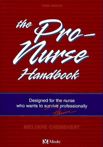 Pro-Nurse Handbook 9780815112150