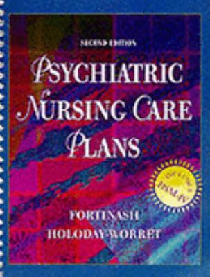 Psychiatric Nursing Care Plans 9780815133391