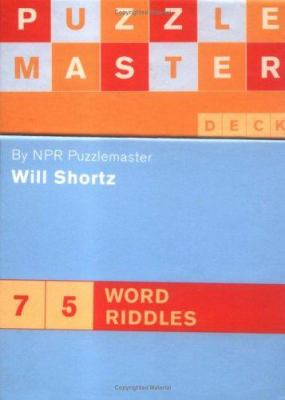 Puzzlemaster Deck: 75 Word Riddles 9780811852739